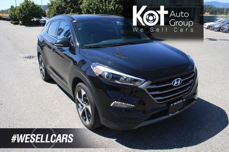 2016 Hyundai Tucson Limited FULLY LOADED! SUNROOF! LEATHER! NAVIGATION! LOTS MORE ! Kelowna BC