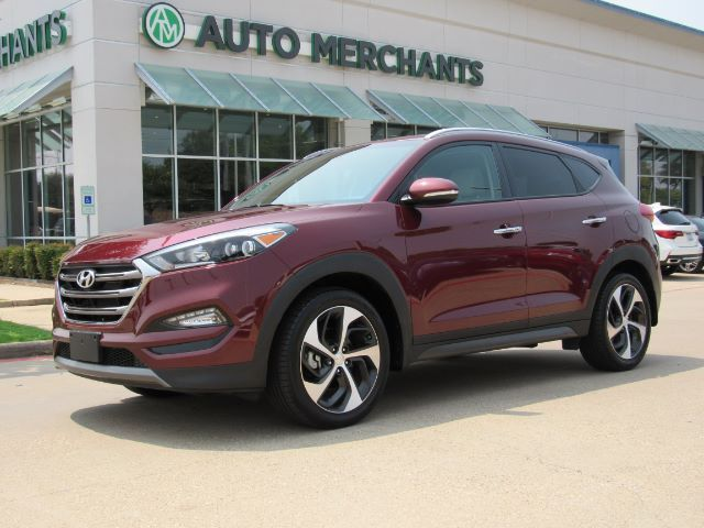 2016 Hyundai Tucson Limited NAV, HTD SEATS, BLIND SPOT, BACKUP CAM, SAT RADIO, AUX/USB, BLUETOOTH, PUSH BUTTON START Plano TX