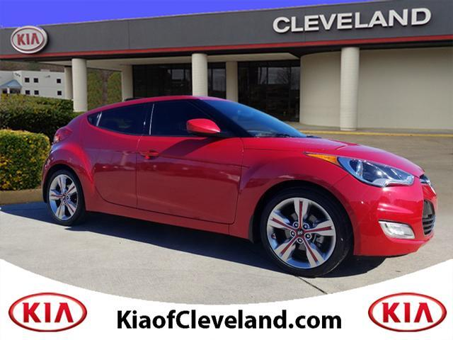 2016 Hyundai Veloster Sunroof/Leather/Cloth
