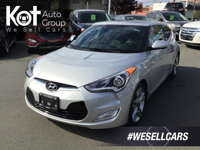 2016 Hyundai Veloster Tech Manual! No Accidents, One Owner, Low KM's, Navigation! Sunroof Victoria BC