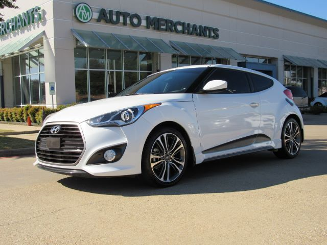 2016 Hyundai Veloster Turbo 6MT, BACK-UP CAMERA, BLUETOOTH CONNECTION, MANUAL TRANS Plano TX