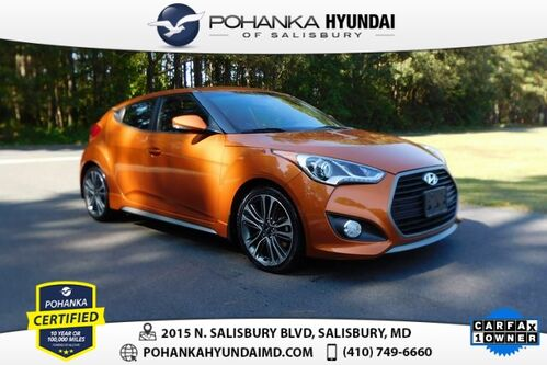 2016_Hyundai_Veloster_Turbo **ONE OWNER**BACK UP CAM**_ Salisbury MD