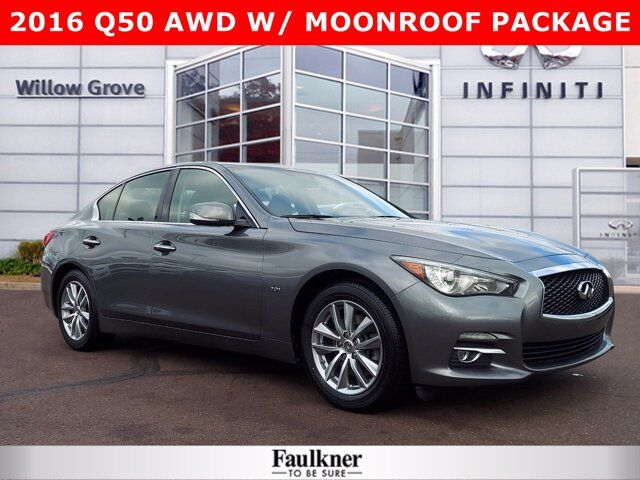 2016 INFINITI Q50 2.0t Base Willow Grove PA