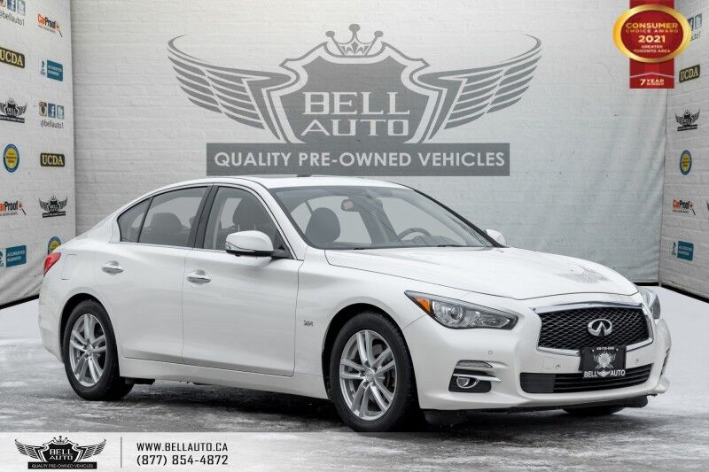 2016 INFINITI Q50 3.0t, 300HP, AWD, NO ACCIDENTS, NAVI, REAR CAM, ROOF, SENSORS Toronto ON