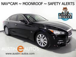 2016_INFINITI_Q50 3.0t Premium_*NAVIGATION, BLIND SPOT ALERT, COLLISION ALERT w/BRAKING, SURROUND MONITORS, MOONROOF, HEATED SEATS/STEERING WHEEL, BOSE AUDIO, BLUETOOTH_ Round Rock TX