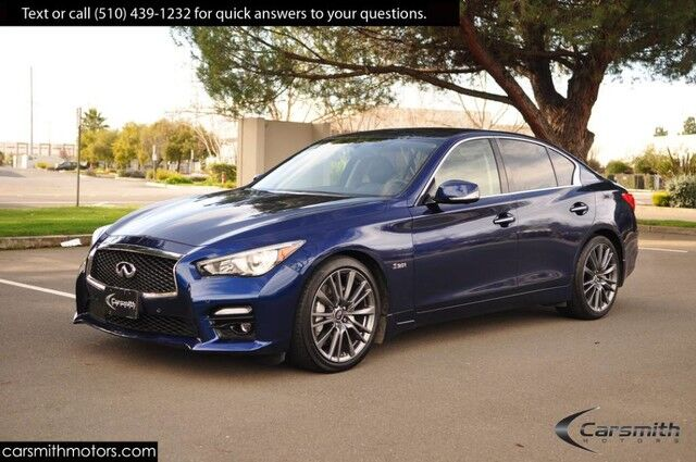 2016 INFINITI Q50 3.0t Red Sport 400 HP, $8,500 in Options/Features & CPO Certified! Fremont CA