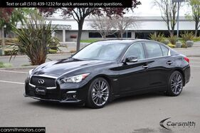 2016_INFINITI_Q50 3.0t Red Sport 400_WOW! Technology, Driver Assist, Premium Plus & CPO!_ Fremont CA