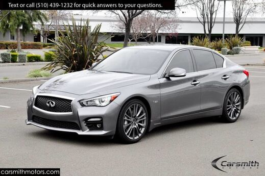 2016 INFINITI Q50 3.0t Red Sport LOADED! Premium Plus Package, Navigation & CPO Certified! Fremont CA