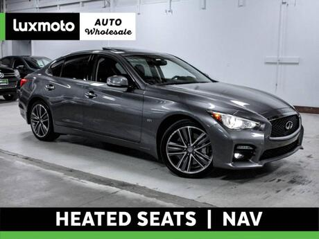 2016 INFINITI Q50 3.0t Sport AWD Back-Up Camera Nav Heated Seats Portland OR