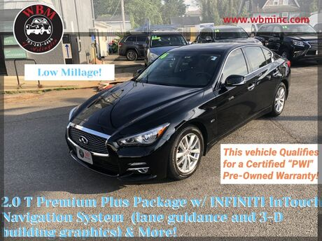2016 INFINITI Q50 AWD w/ Premium Plus Package Arlington VA