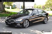 2016 INFINITI Q50 Hybrid Deluxe Technology Package, 19-inch Sport Wheels & CPO!