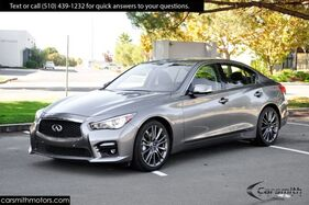 2016_INFINITI_Q50S 3.0t Red Sport 400_Sport Premium Plus & Driver Assist Packages & CPO!_ Fremont CA