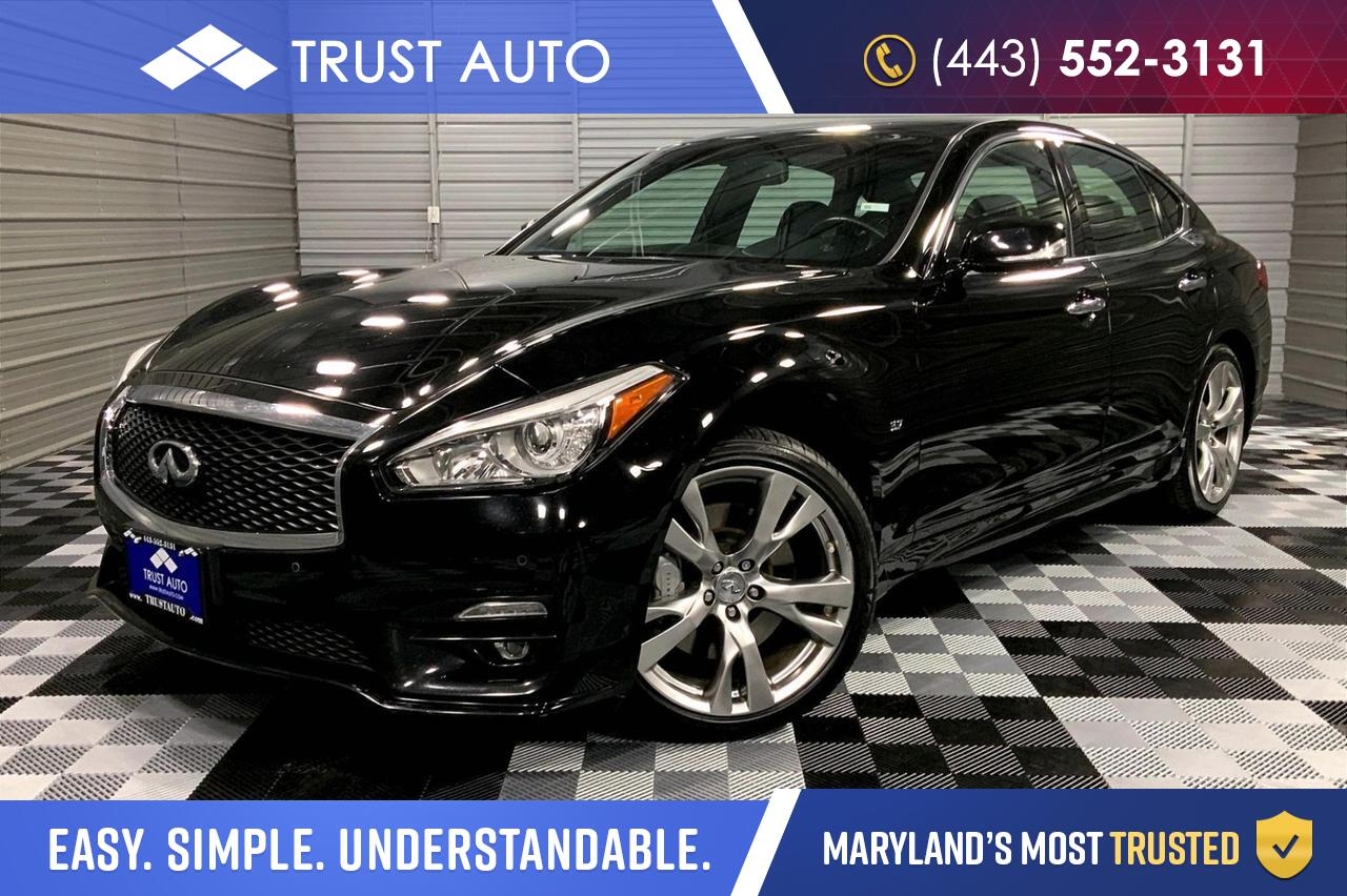 2016 INFINITI Q70 S Sport Package Luxury Sedan Sykesville MD