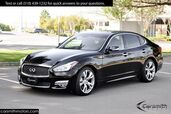 2016 INFINITI Q70 Sport, Technology & Premium Packages & CPO Certified!