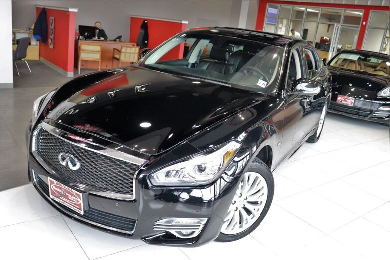 2016 INFINITI Q70L Premium Package Sunroof Navigation 1 Owner Springfield NJ