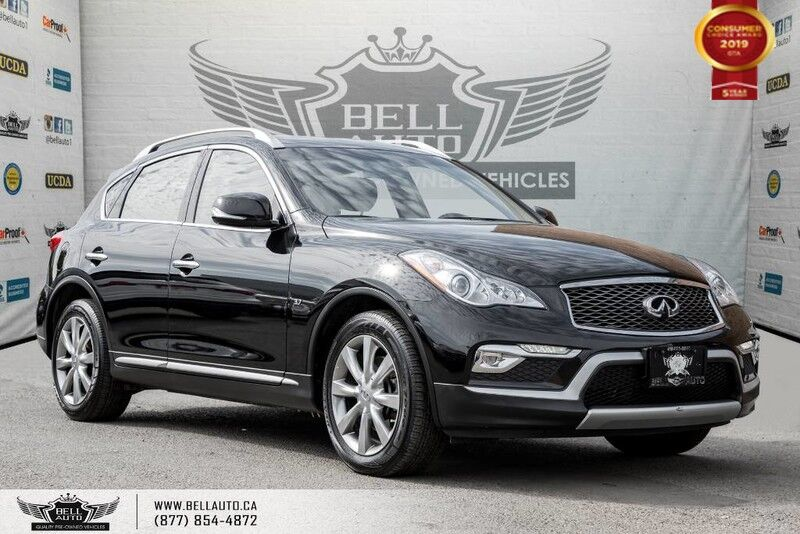2016 INFINITI QX50 AWD, BACK-UP CAM, SUNROOF, LEATHER, BLUETOOTH