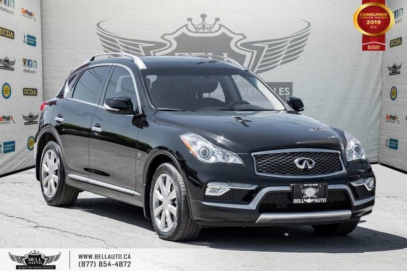 2016 INFINITI QX50 NO ACCIDENT, AWD, BACK-UP CAM, SUNROOF, LEATHER