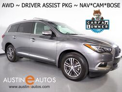 2016_INFINITI_QX60 AWD_*NAVIGATION, BLIND SPOT ALERT, COLLISION WARNING w/BRAKE, SURROUND VIEW CAMERAS, ADAPTIVE CRUISE, MOONROOF, LEATHER, HEATED SEATS, BOSE, BLUETOOTH_ Round Rock TX