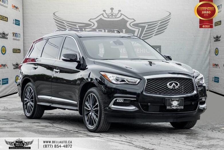 2016 INFINITI QX60 AWD, NO ACCIDENT, 360 CAM, NAVI, PANO ROOF, DVD PLAYER Toronto ON