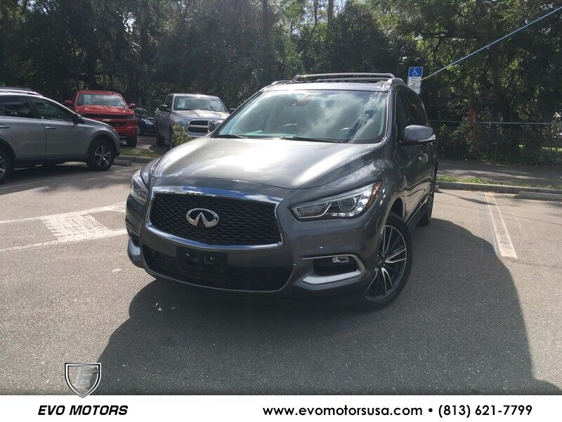 2016 INFINITI QX60 AWD W/ DELUXE TOURING PKG. PANO. DUAL DVD Seffner FL