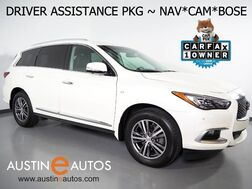 2016_INFINITI_QX60_*NAVIGATION, BLIND SPOT ALERT, COLLISION WARNING w/BRAKE, SURROUND VIEW CAMERAS, ADAPTIVE CRUISE, MOONROOF, LEATHER, HEATED SEATS, BOSE, BLUETOOTH_ Round Rock TX