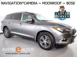 2016_INFINITI_QX60_*NAVIGATION, SURROUND CAMERAS, LEATHER, MOONROOF, HEATED SEATS/STEERING WHEEL, POWER LIFTGATE, BOSE AUDIO, BLUETOOTH_ Round Rock TX