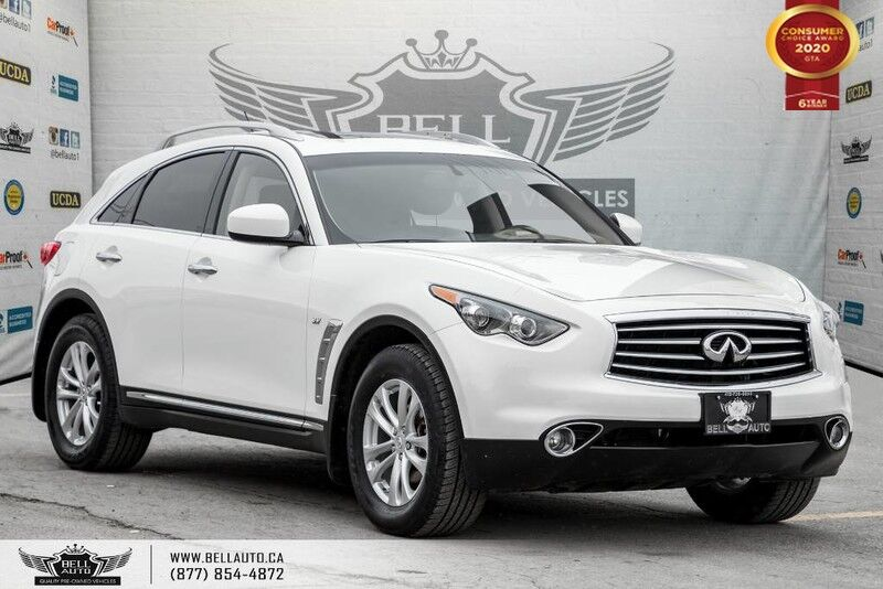 2016 INFINITI QX70 AWD, NO ACCIDENT, REAR CAM, SUNROOF, COOLED SEATS Toronto ON