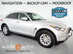 2016_INFINITI_QX70_*NAVIGATION, BACKUP-CAMERA, LEATHER, MOONROOF, HEATED SEATS, BOSE AUDIO, BLUETOOTH PHONE & AUDIO_ Round Rock TX