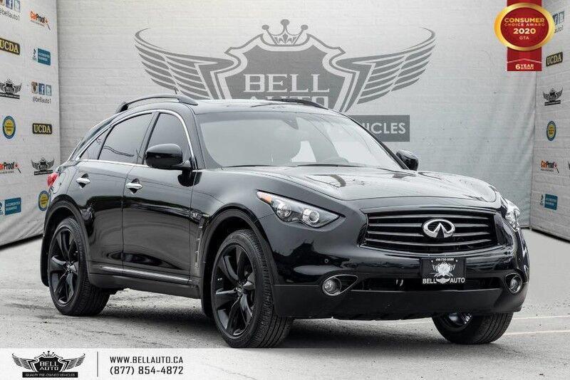 2016 INFINITI QX70 S, AWD, NAVI, 360 CAM, COOLED SEAT, SUNROOF