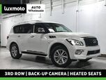 2016 INFINITI QX80 4WD 3rd Row Nav Back-Up Cam Heated Seats