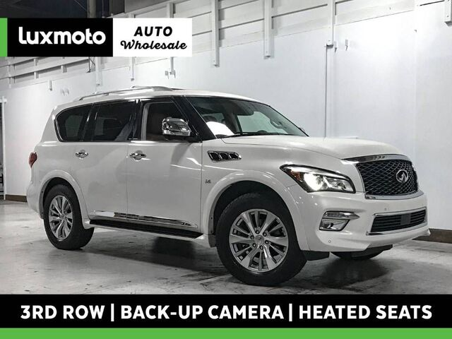 2016 INFINITI QX80 4WD 3rd Row Nav Back-Up Cam Heated Seats Portland OR