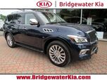2016 INFINITI QX80 4WD, Deluxe Technology Package, Driver Assistance Package, Navigation, Around-View Camera, Bluetooth Streaming Audio, Bose Premium Sound, Heated Leather Seats, Power Sunroof, 22-Inch Alloy Wheels,