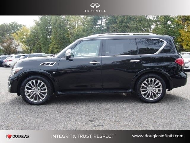 2016 INFINITI QX80 4WD Summit NJ