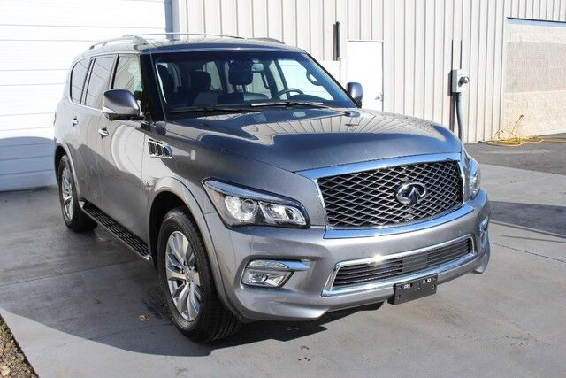 2016 INFINITI QX80 AWD Navigation Backup Camera 3rd Row Knoxville TN