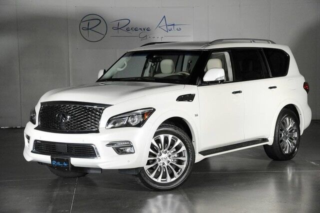 2016 INFINITI QX80 Drivers Assist Package Blind Spot Assist 22 Wheel Package The Colony TX