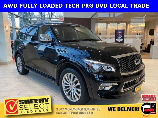 2016 INFINITI QX80 FULLY LOADED DELUXE TECH/DVD Chantilly VA