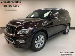 INFINITI QX80 One Owner Theater Pkg Rear Ent,Rear Heated seats Driver Assist 2016