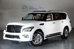 2016 INFINITI QX80 Signature Edition Rear DVD / Theater Pkg