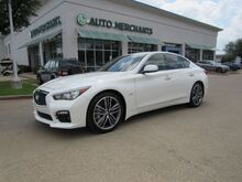 2016_Infiniti_Q50_Sport LEATHER SPORT SEATS, SUNROOF, PREMIUM SOUND SYSTEM, BACKUP CAMERA, KEYLESS START BLUETOOTH_ Plano TX
