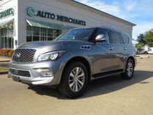 2016_Infiniti_QX80_2WD LEATHER, SUNROOF, 3RD ROW, HTD FRONT STS, NAVIGATION, UNDER FACTORY WARRANTY_ Plano TX