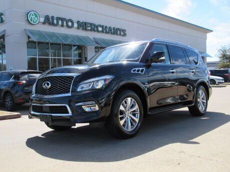 2016 Infiniti QX80 2WD  NAVIGATION, ENTERTAINMENT SYSTEM, SUNROOF, 360 DEGREE CAMERA, HEATED FRONT AND REAR SEATS Plano TX