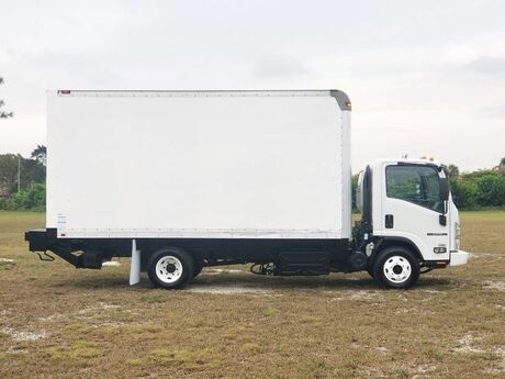 2016 Isuzu NPR HD 16 foot dry freight Homestead FL