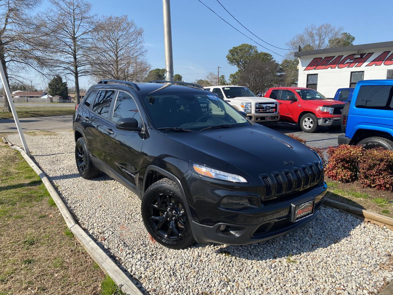 2016 JEEP CHEROKEE SPORT 4X4, WARRANTY, BACKUP CAM, PARKING SENSORS, BLUETOOTH, AUX/USB PORT, LOCALLY OWNED,CLEAN! Norfolk VA