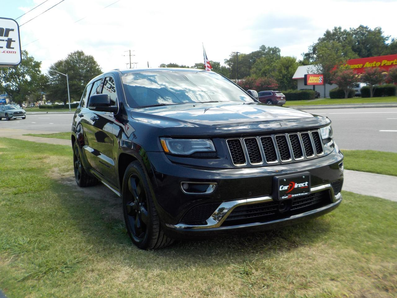 2016 JEEP GRAND CHEROKEE HIGH ALTITUDE 4X4, ECODIESEL, LEATHER, HEATED/COOLED SEATS, NAV, 1 OWNER, LOW MILES, CLEAN CARFAX! Virginia Beach VA