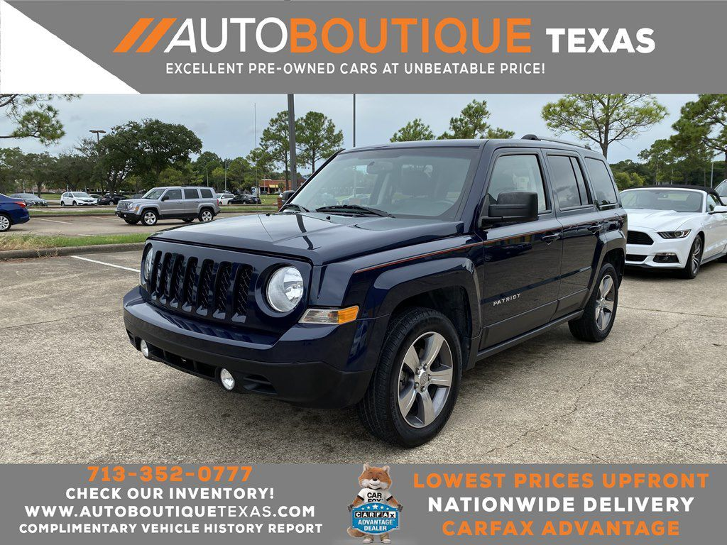 2016 JEEP PATRIOT LATITUDE Houston TX