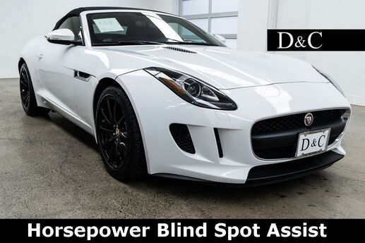 2016 Jaguar F-TYPE 340 Horsepower Blind Spot Assist Portland OR