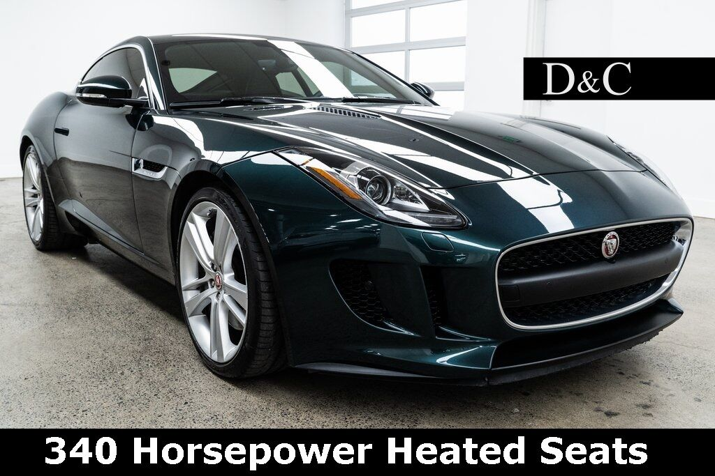 2016 Jaguar F-TYPE 340 Horsepower Heated Seats Portland OR