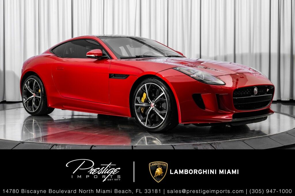2016_Jaguar_F-TYPE_R_ North Miami Beach FL