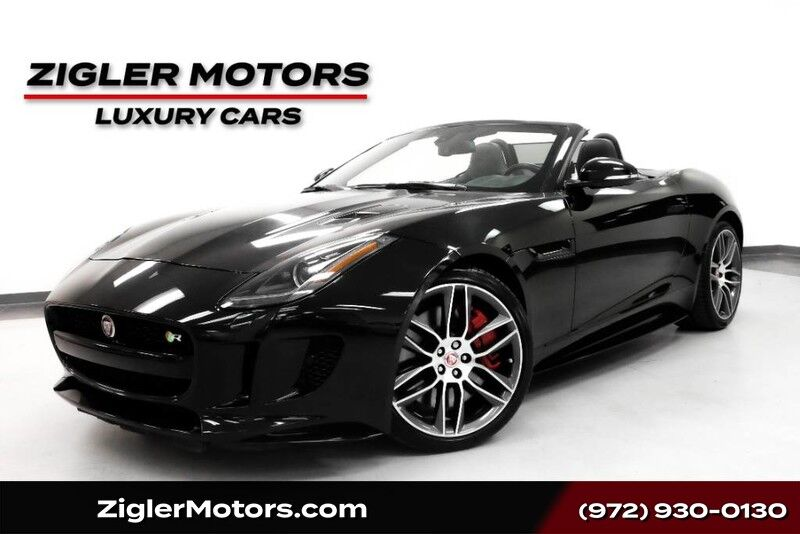 2016 Jaguar F-TYPE R V8 Supercharged AWD Convertible One Owner Addison TX