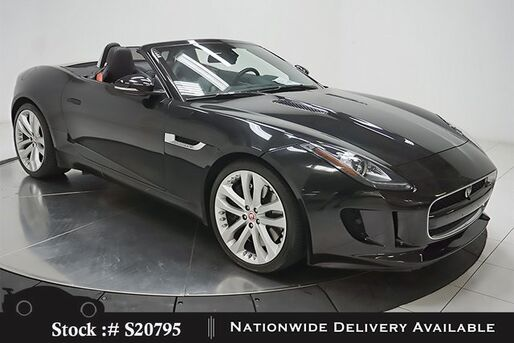 2016_Jaguar_F-TYPE_S Convertible NAV,CAM,HTD STS,BLIND SPOT,20IN WLS_ Plano TX